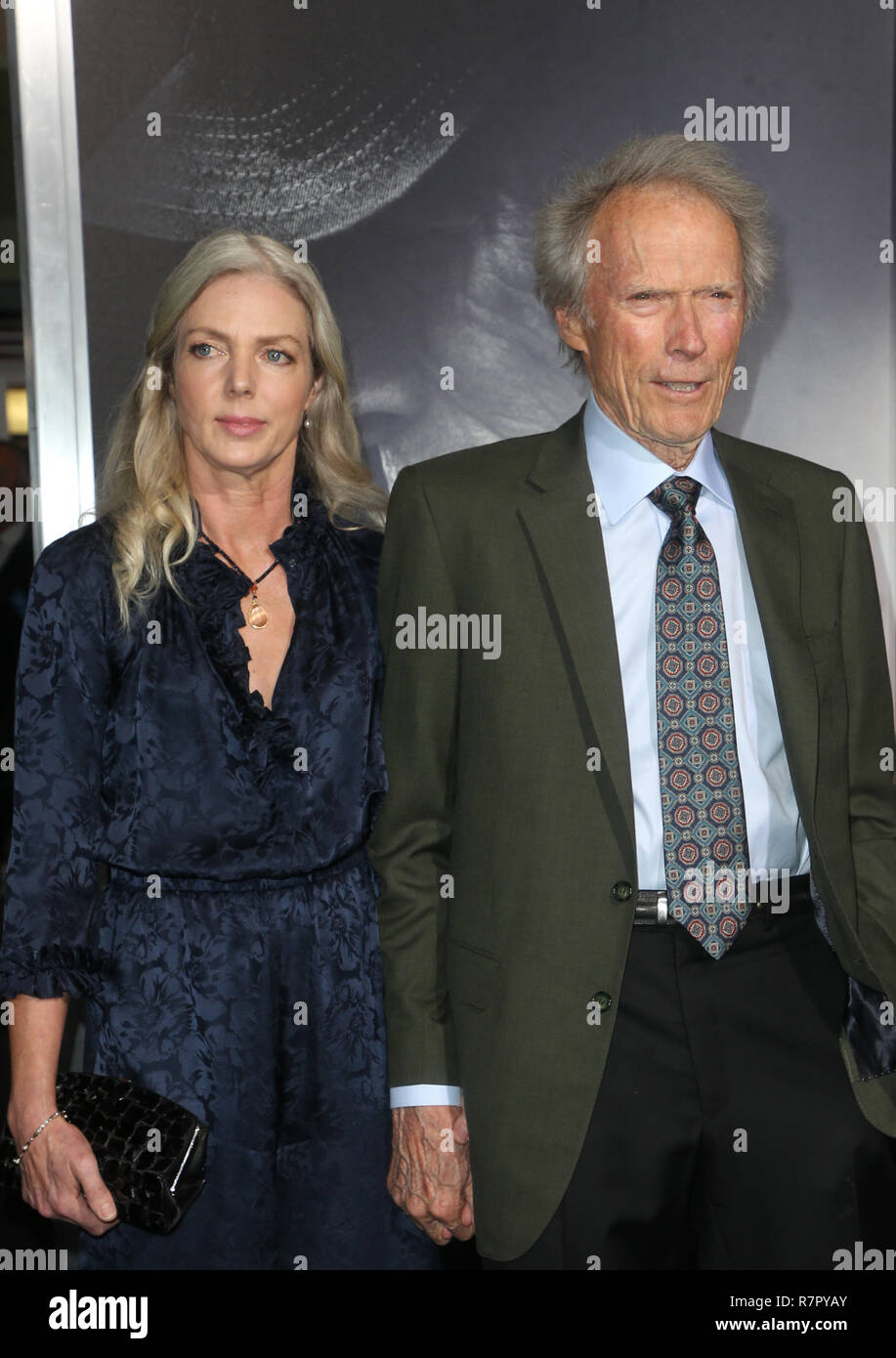 Westwood, California, USA. 10th Dec, 2018. Christina Sandera, Clint Eastwood, at the world premiere of The Mule at the Regency Village Theatre in Westwood, California on December 10, 2018. Credit: Faye Sadou/Media Punch/Alamy Live News Stock Photo