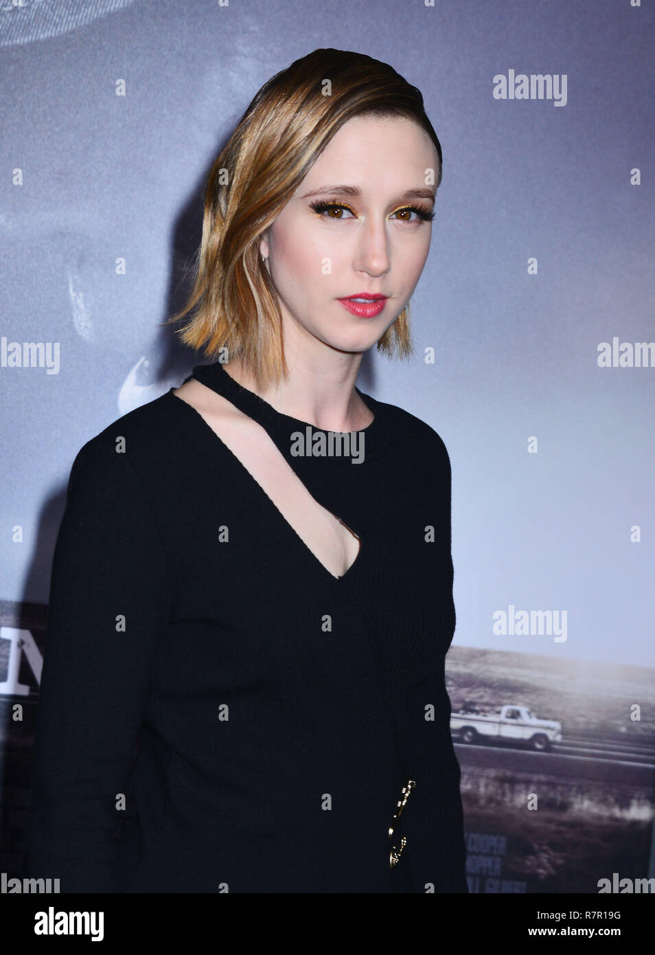 Westwood, California, USA. 10th Dec 2018. Taissa Farmiga 186 attends Warner Bros. Pictures World Premiere Of 'The Mule' at Regency Village Theatre on December 10, 2018 in Westwood, California. Credit: Tsuni / USA/Alamy Live News - Stock Image