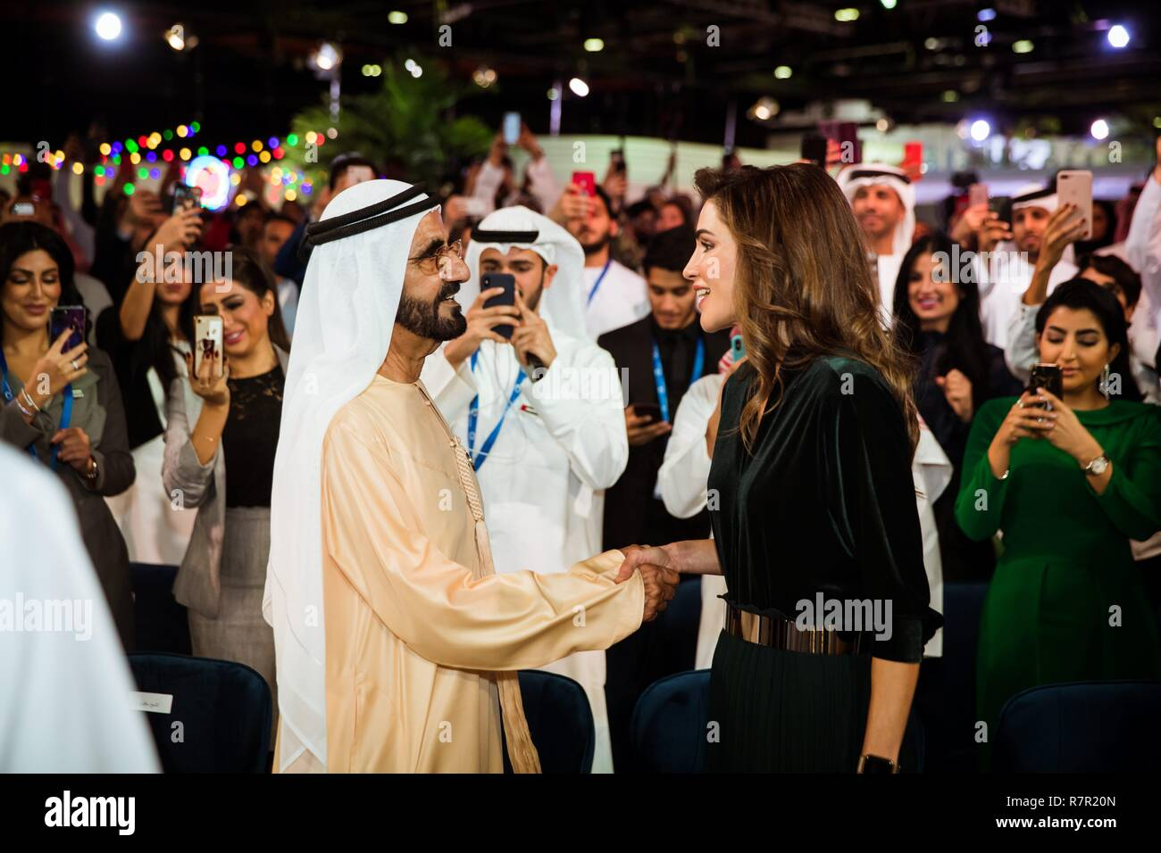 Highness Sheikh Mohammed Bin Rashid Al Maktoum Stock Photos