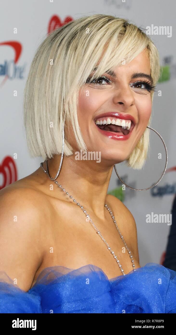 Inglewood Los Angeles Ca Usa November 30 Bebe Rexha At 102 7 Kiis Fm S Jingle Ball 2018