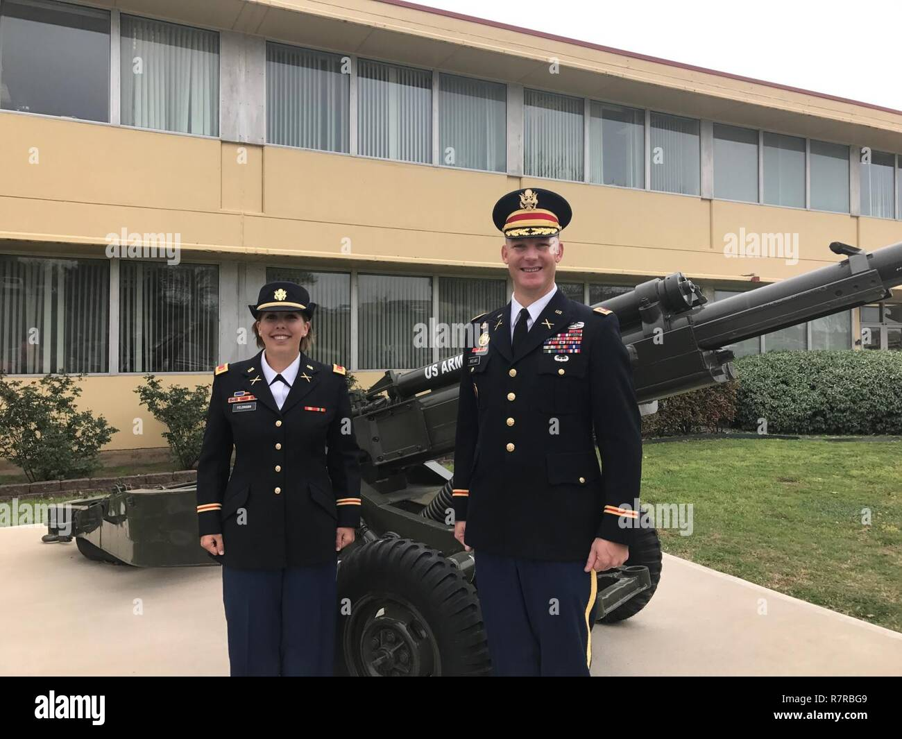 First Female In Field Artillery High Resolution Stock Photography ...