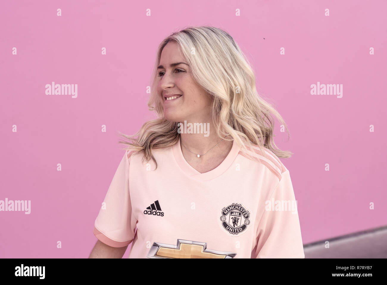 Manchester United Away Shirt 2018 19 Stock Photo Alamy