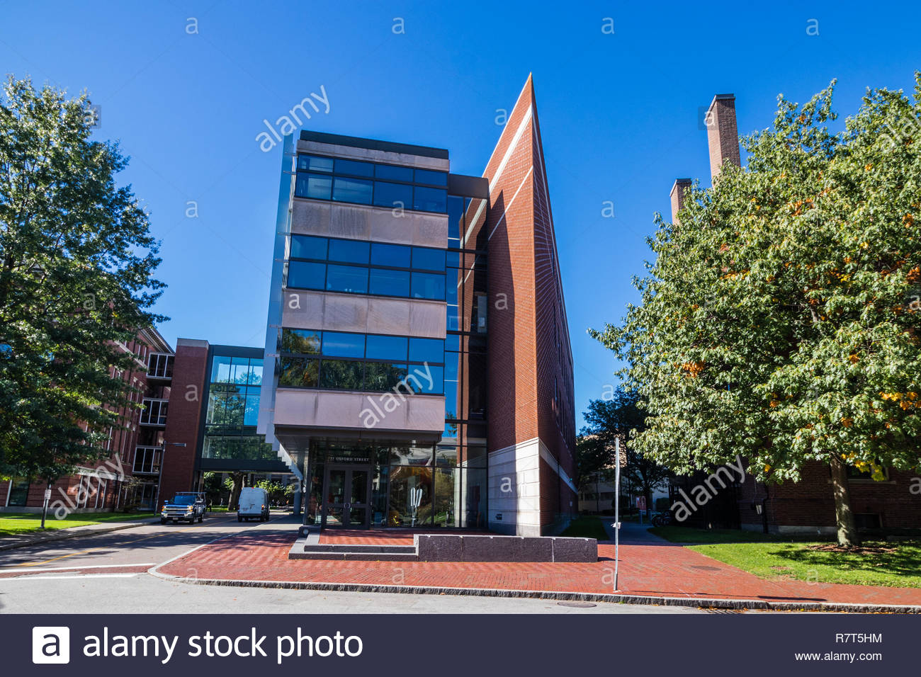 Tradition with modernity in academia - Stock Image
