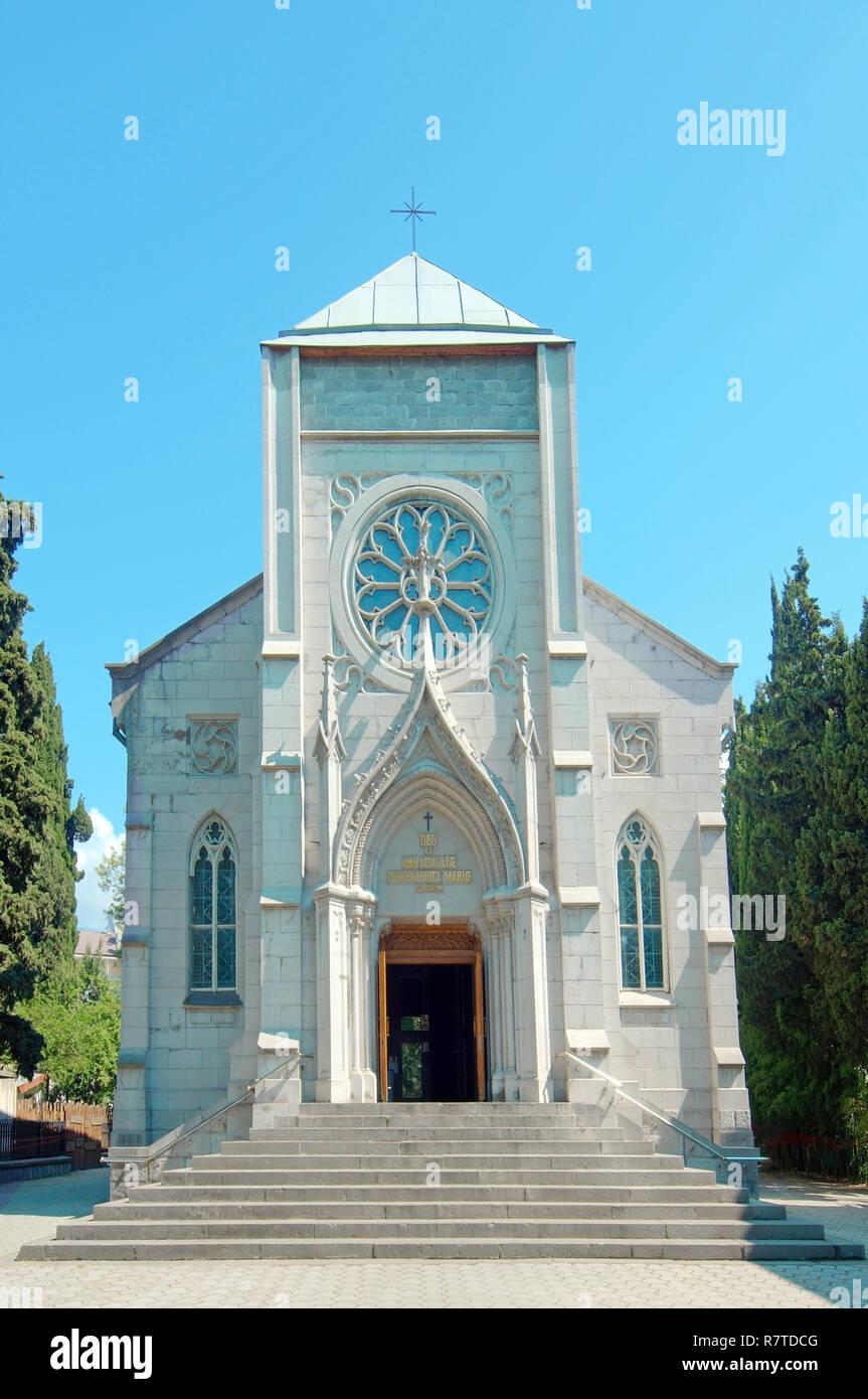 Livadiya Chapel, Livadiya, Yalta, Crimea, Ukraine - Stock Image