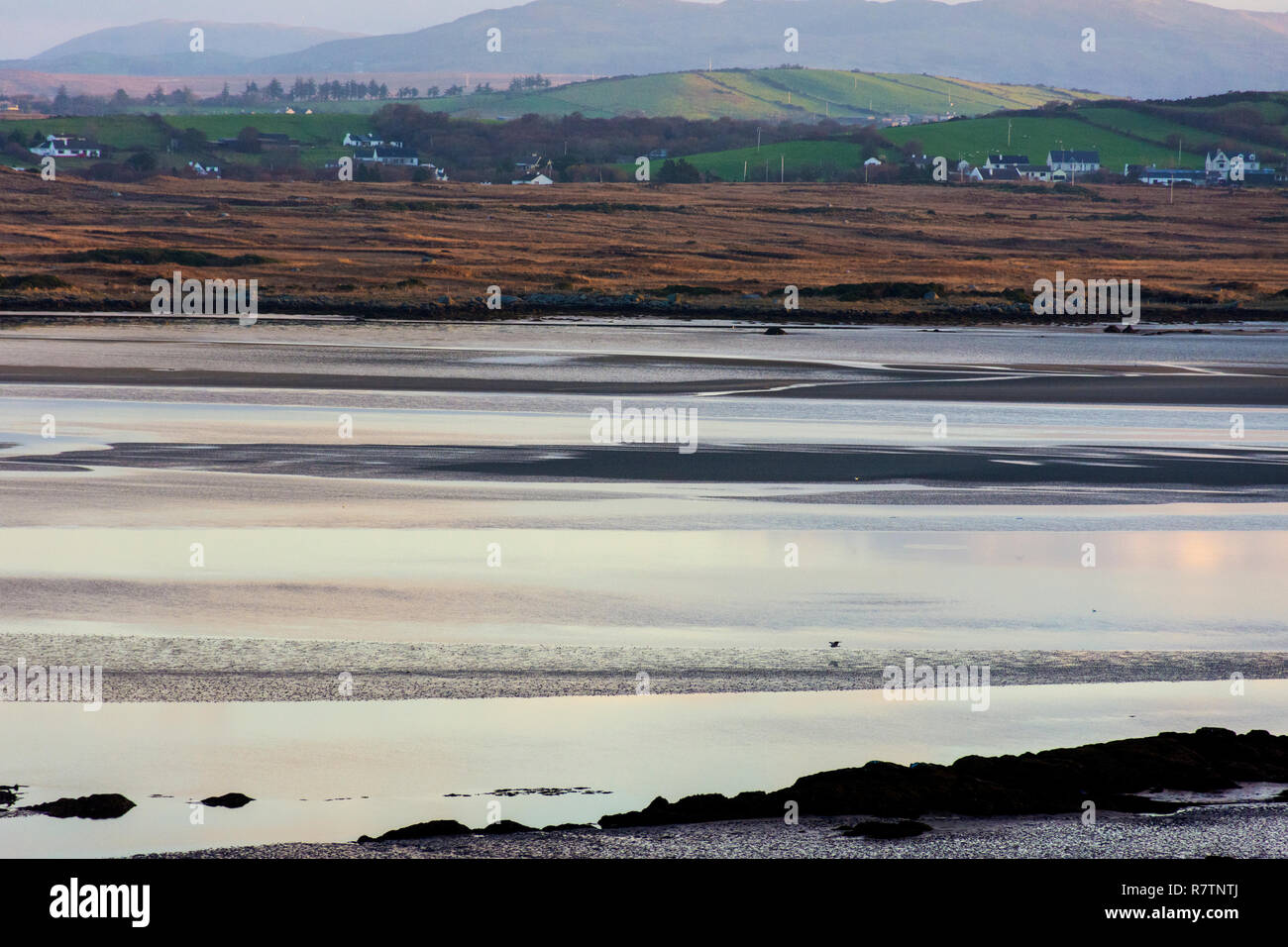 Loughros More Bay, Ardara, County Donegal, Ireland. Proposed site of controversial oyster farm. - Stock Image