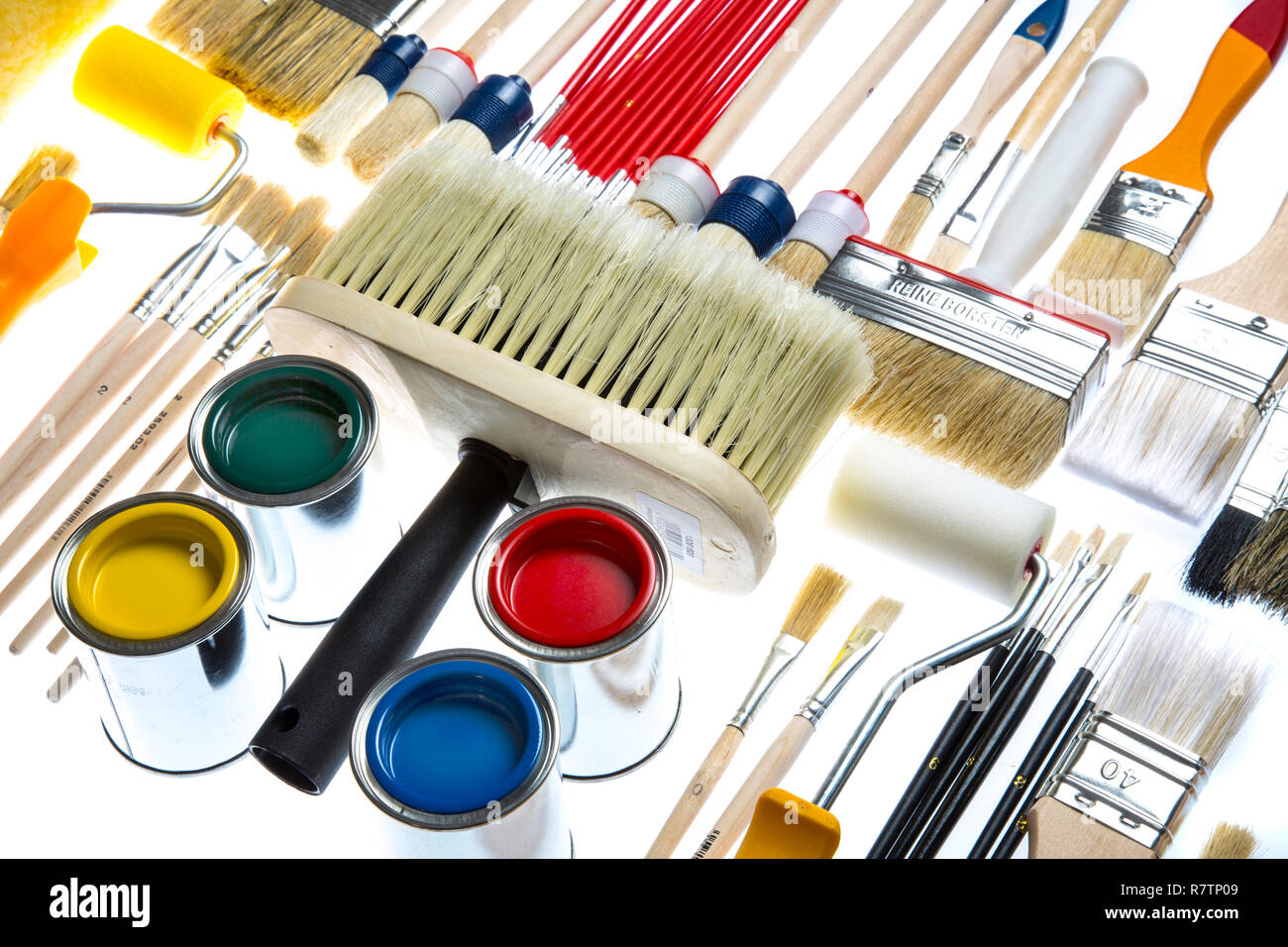 Brush Rollers Stock Photos & Brush Rollers Stock Images - Alamy