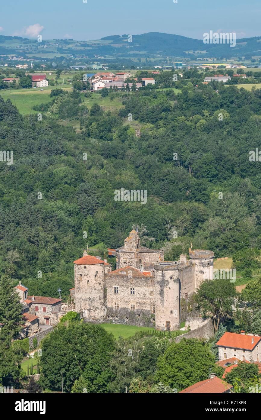 Architecte Le Puy En Velay france, haute loire, castle of saint vidal near le puy en