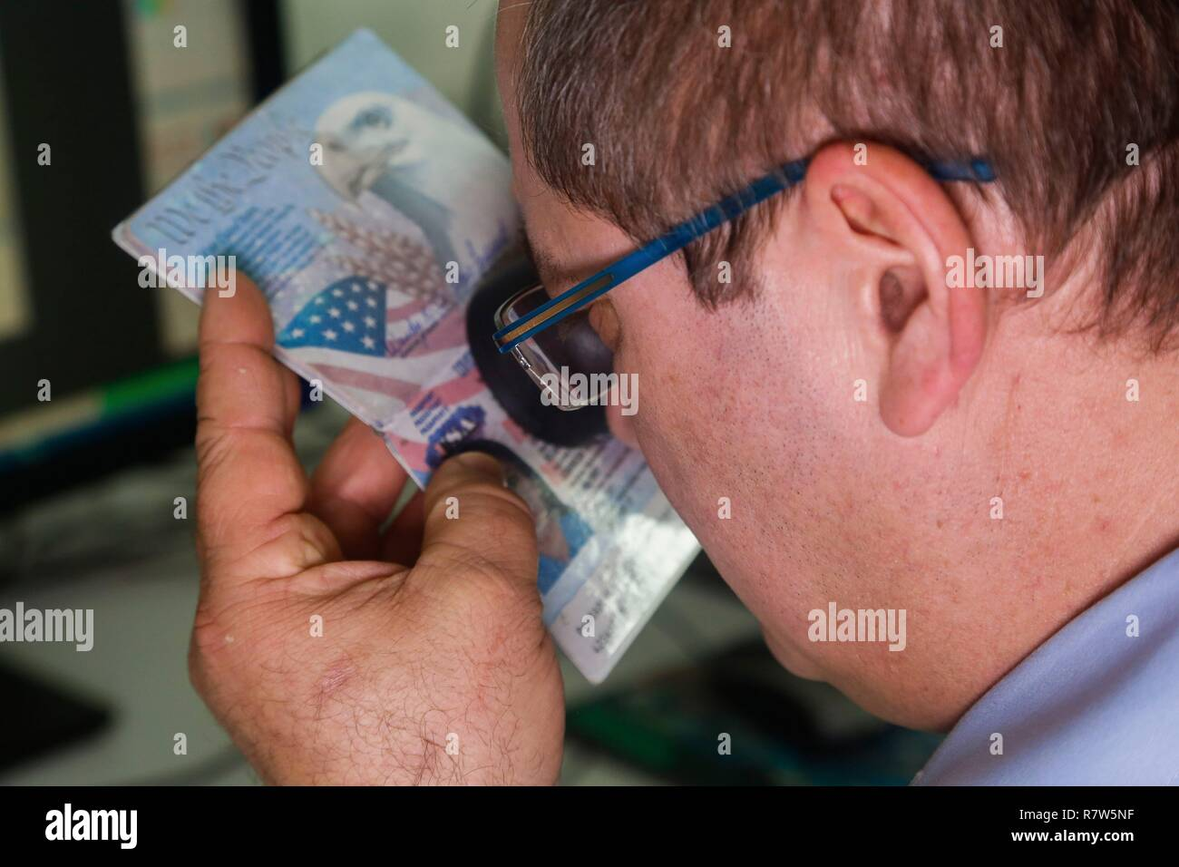 France, Val d'Oise, Pontoise, Criminal Investigation Institute of the National Gendarmerie, Forensic and Numerical Division, Documents - Stock Image