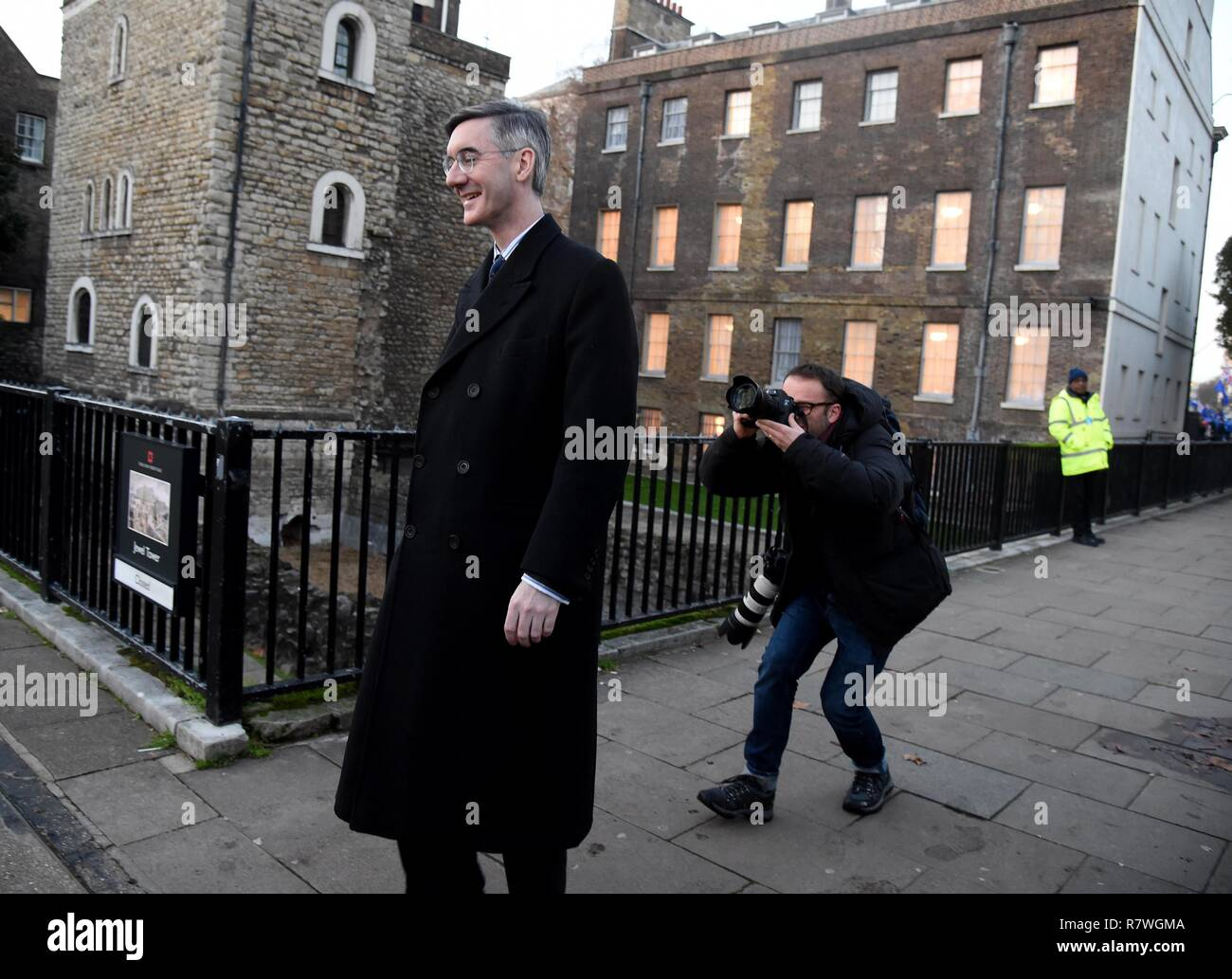 Jacob Rees-Mogg MP, Westminster, London Credit: Finnbarr Webster/Alamy Live News - Stock Image