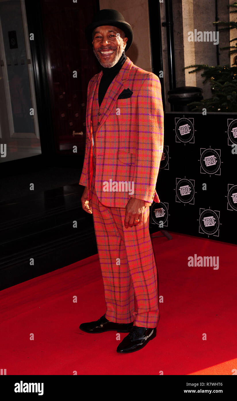 London, UK. 11th December, 2018. Danny John-Jules  attinding The TRIC  Christmas Party at  The Grosvenor House Hotel  London Tuesday 11th December 2018 Credit: Peter Phillips/Alamy Live News - Stock Image