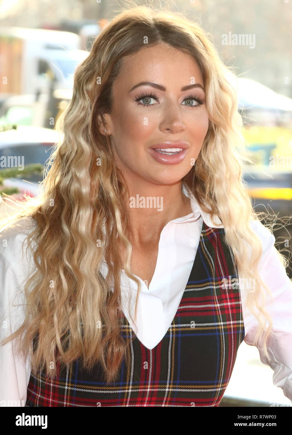 Olivia Attwood at the TRIC Christmas Lunch at Grosvenor House in Park Lane. - Stock Image
