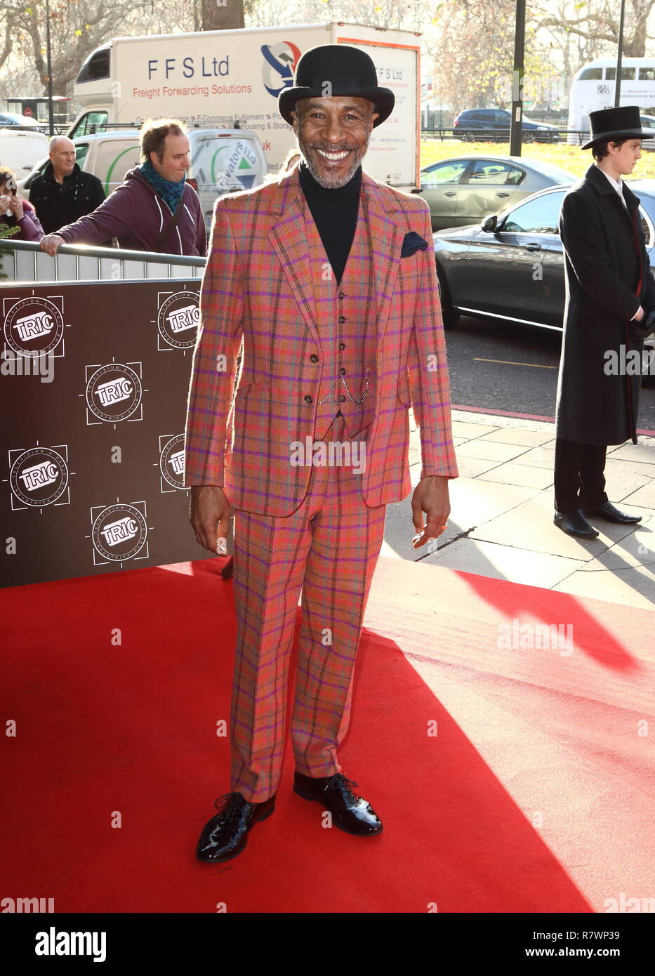 London, UK. 11th Dec, 2018. Danny John-Jules at the TRIC Christmas Lunch at Grosvenor House in Park Lane. Credit: Keith Mayhew/SOPA Images/ZUMA Wire/Alamy Live News - Stock Image