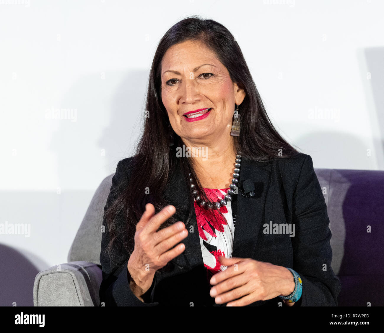 Deb Haaland High Resolution Stock Photography And Images Alamy