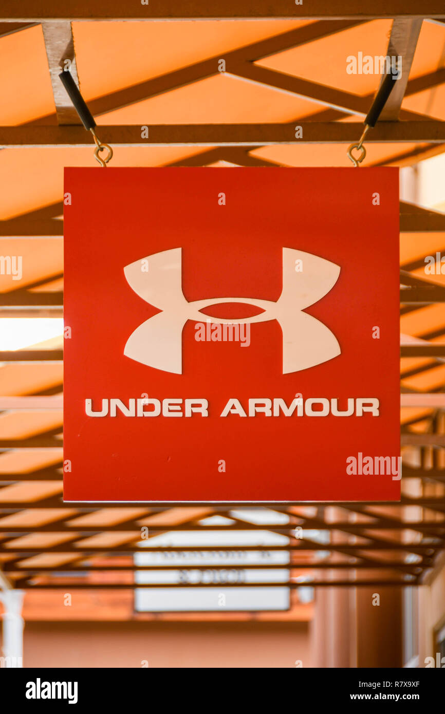 437586bd9cf Under Armour Store Stock Photos   Under Armour Store Stock Images ...