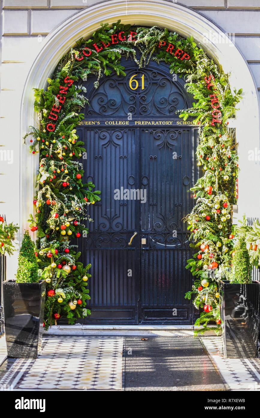Queens College Preparatory School Entrance Door With