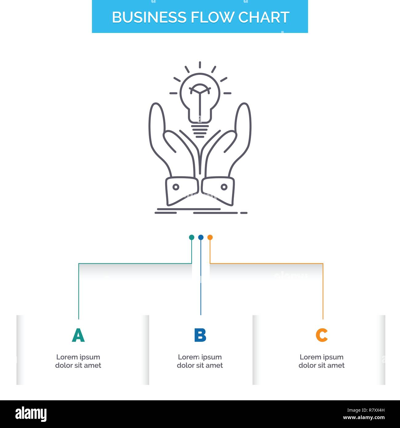 Chart design ideas Presentation Idea Ideas Creative Share Hands Business Flow Chart Design With Steps Line Icon For Presentation Background Template Place For Text Alamy Idea Ideas Creative Share Hands Business Flow Chart Design With