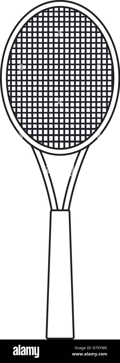 Cartoon Tennis Ball Racket Sport High Resolution Stock Photography And Images Alamy