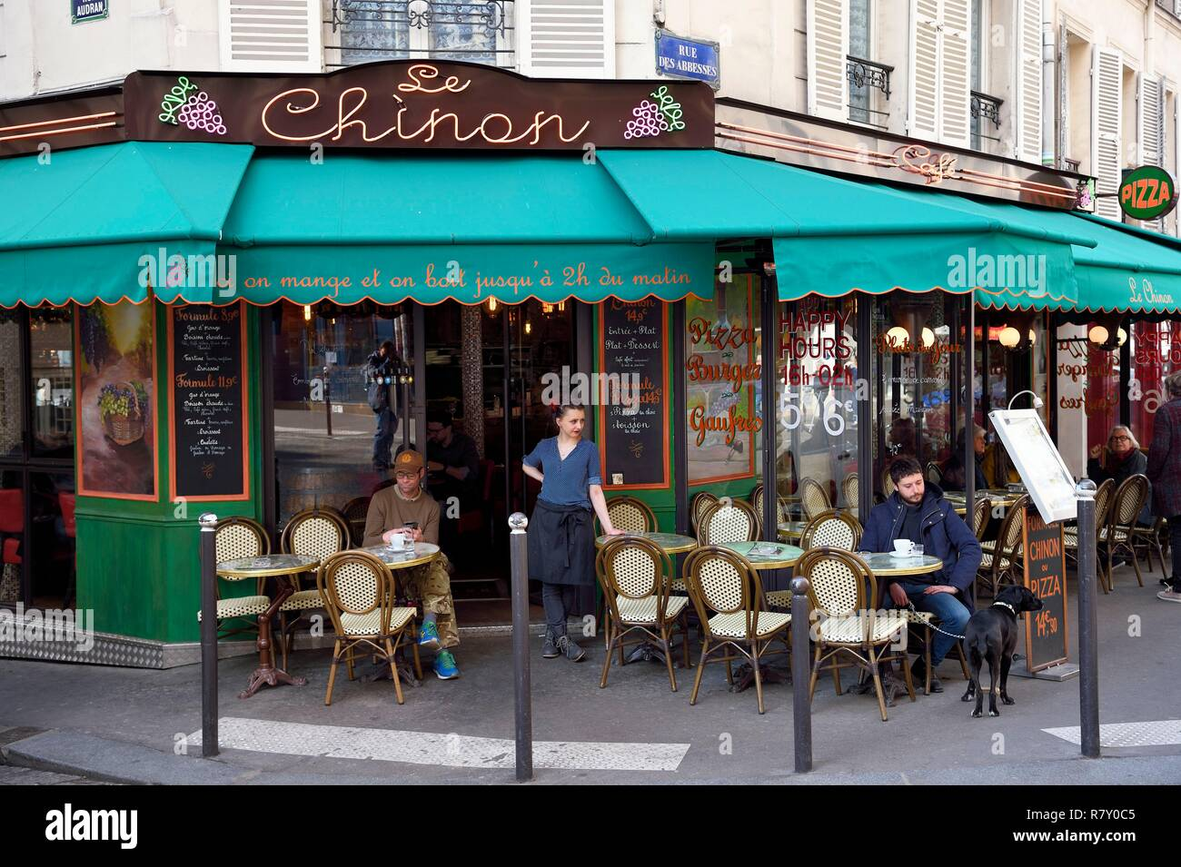 Paris Cafe Terrace Stock Photos Paris Cafe Terrace Stock