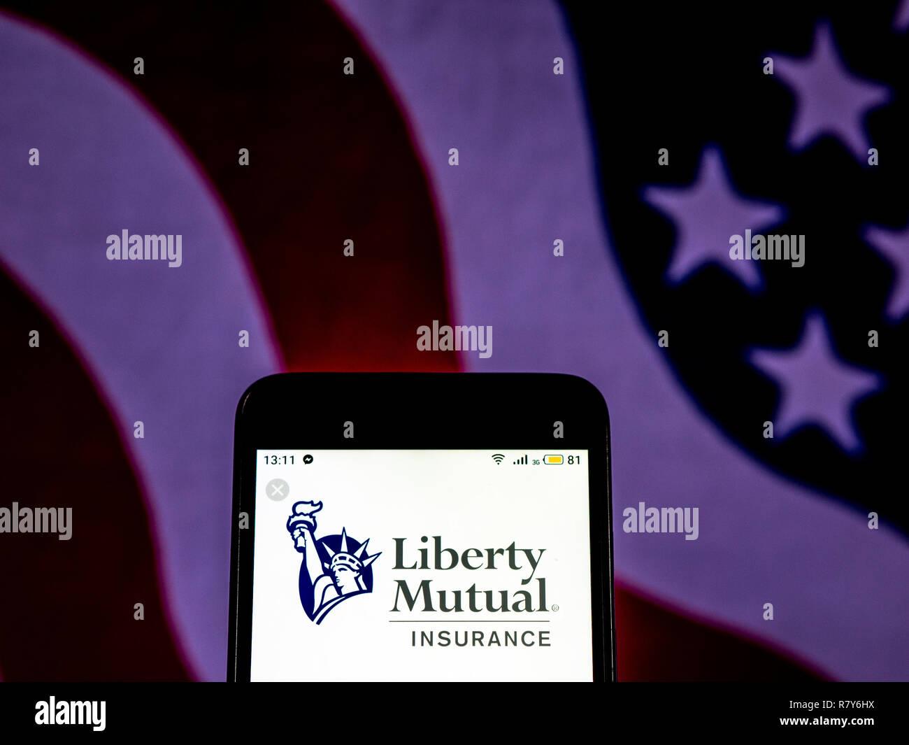 Liberty Insurance Phone Number >> Liberty Mutual Insurance Company Logo Seen Displayed On