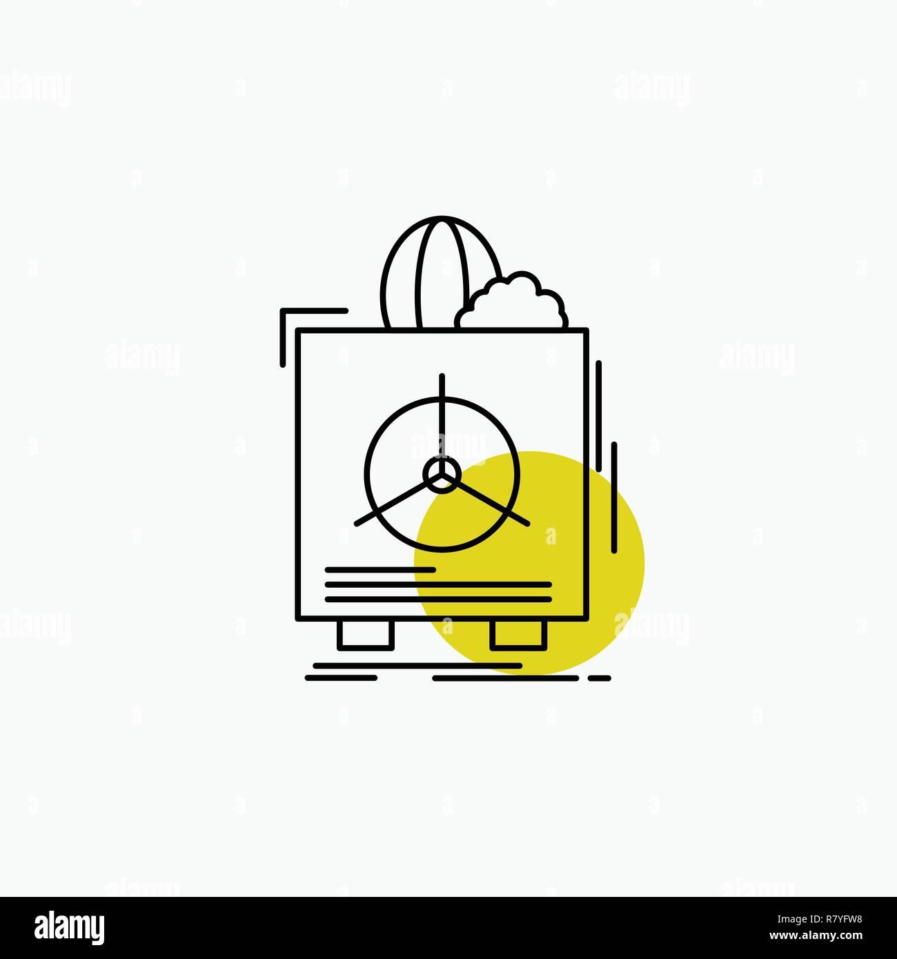insurance, Fragile, product, warranty, health Line Icon - Stock Vector
