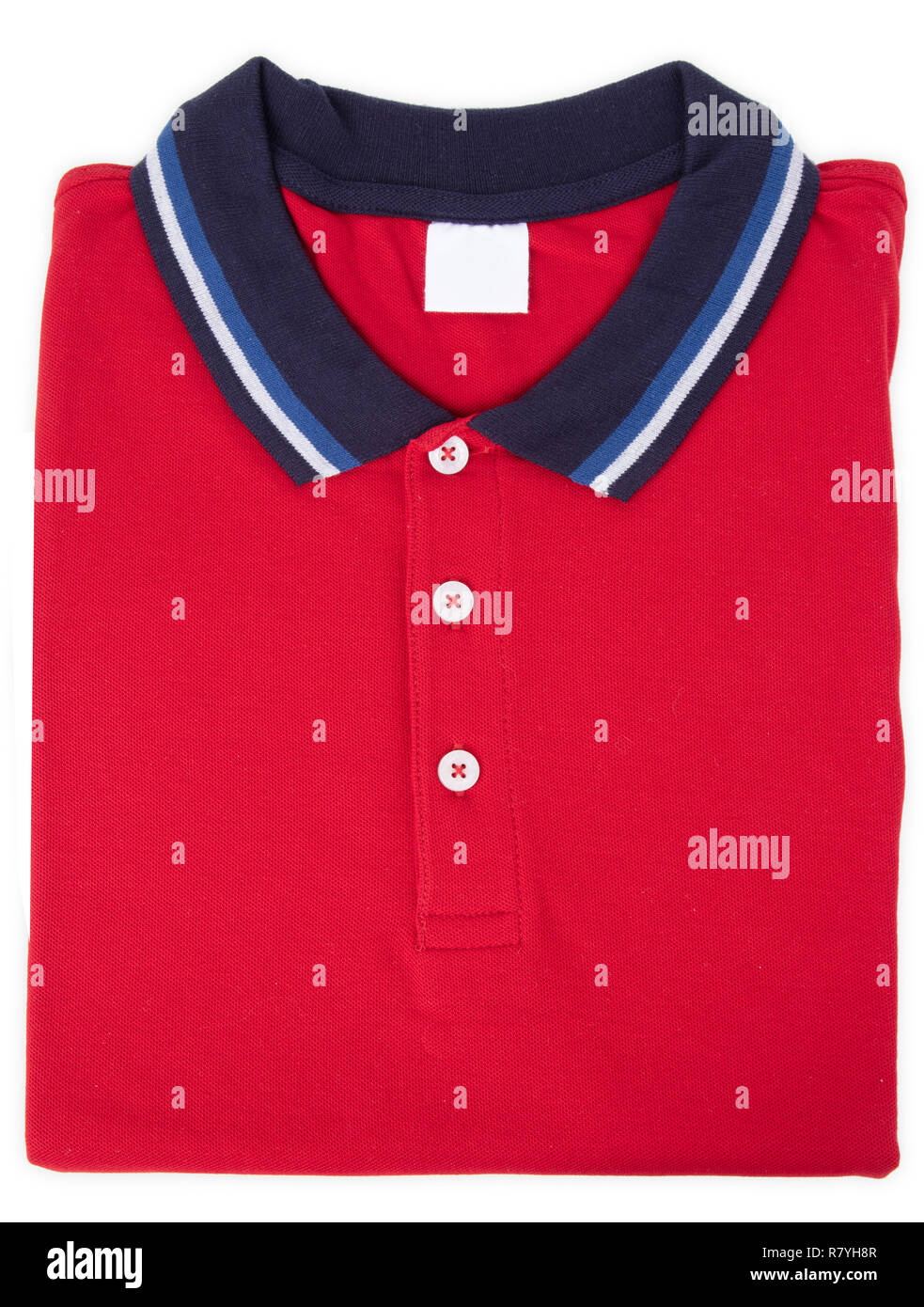 9f1f1347e6 Blue Polo Shirt With Red And White Stripes - DREAMWORKS