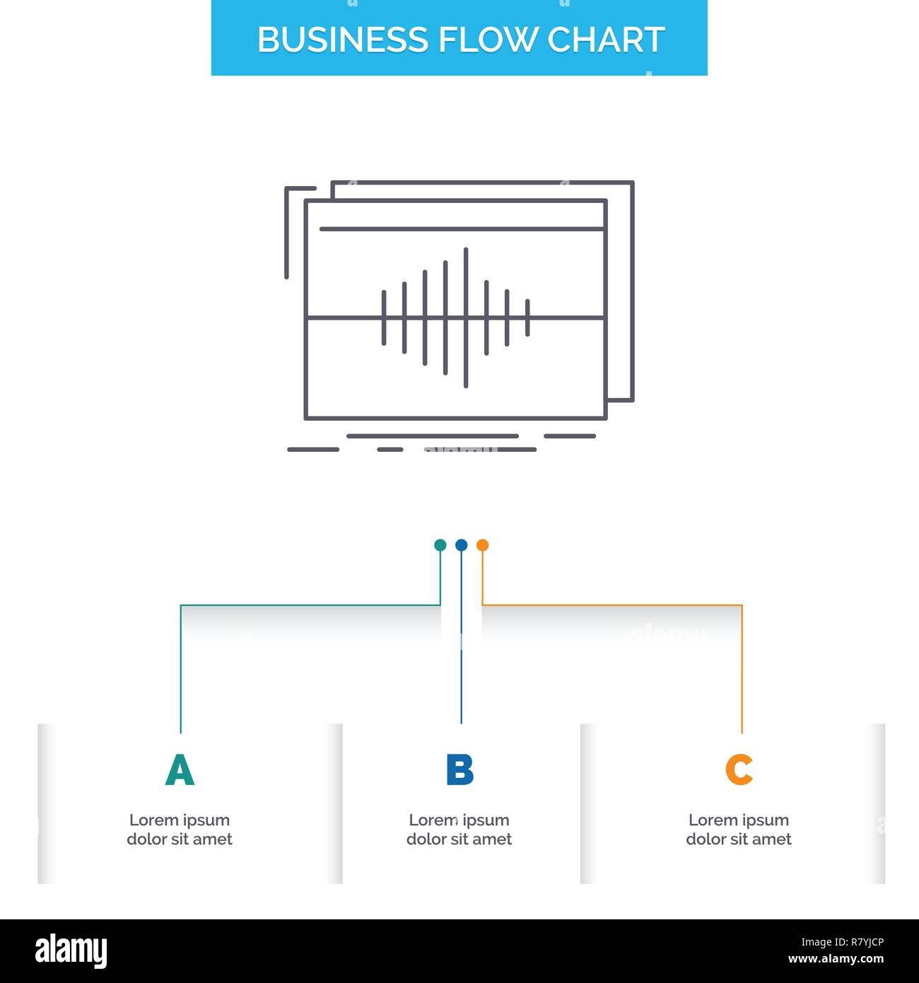 Audio, frequency, hertz, sequence, wave Business Flow Chart