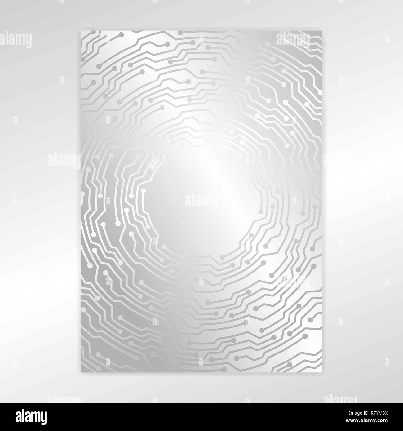 Creative Concept Metal Silver Scheme Texture Page Template Design Abstract Techno Background For Web And Print Design Stock Vector Image Art Alamy