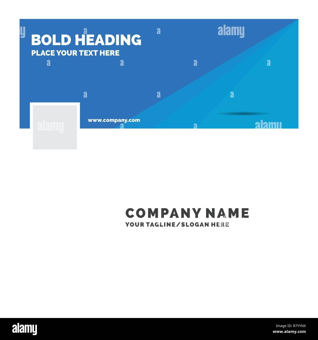 Blue Business Logo Template For Code Coding Doc Programming Script Facebook Timeline Banner Design Vector Web Background Illustration