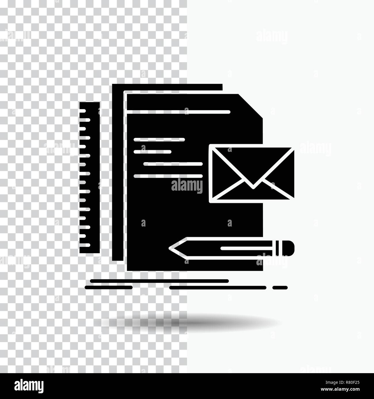 brand company identity letter presentation glyph icon on transparent background black icon stock vector image art alamy https www alamy com brand company identity letter presentation glyph icon on transparent background black icon image228663853 html
