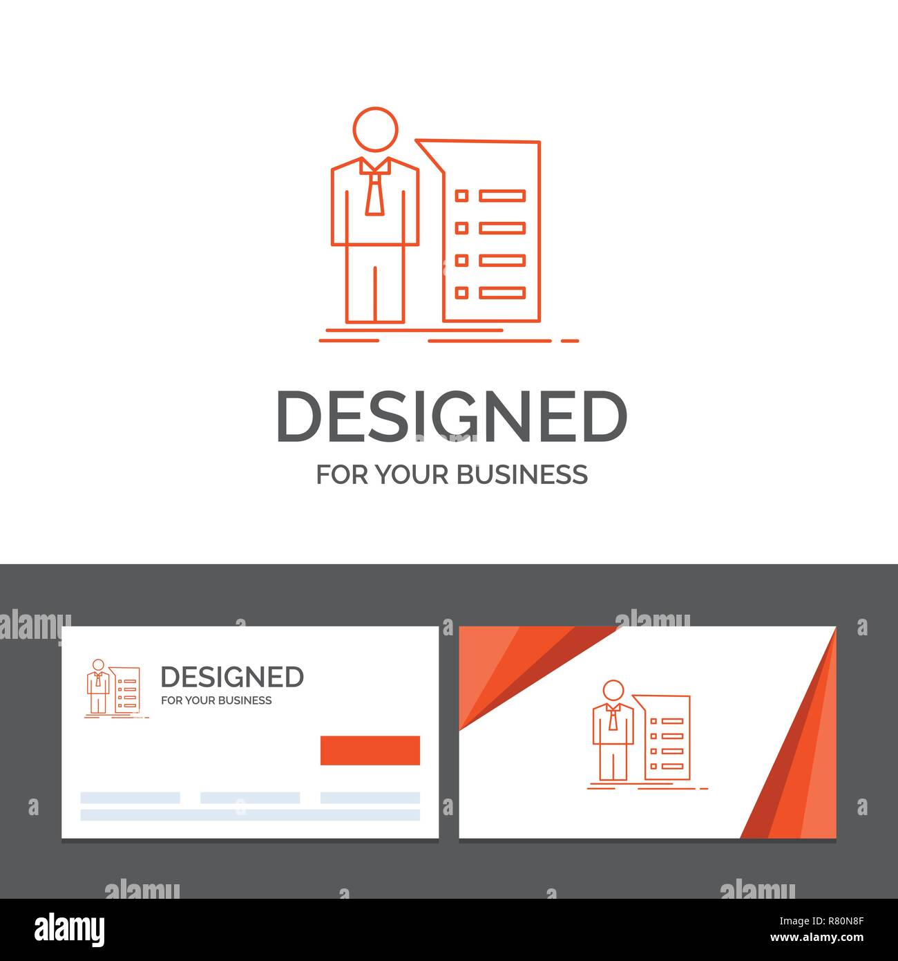 Business Logo Template For Business Explanation Graph Meeting