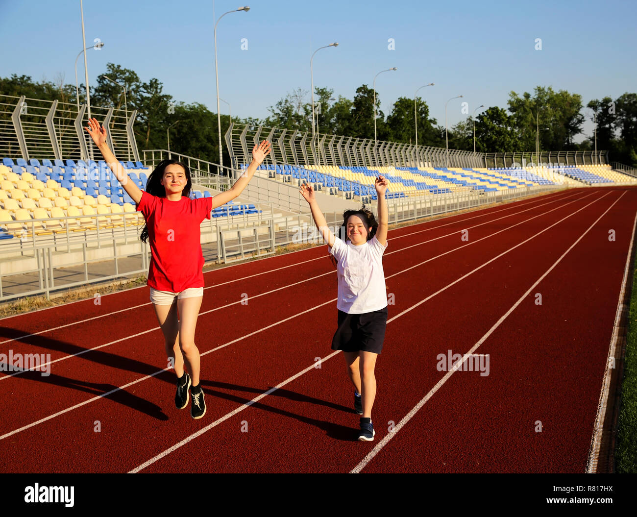 8d2a42f585fc78 Disabled Athlete Running Stock Photos & Disabled Athlete Running ...