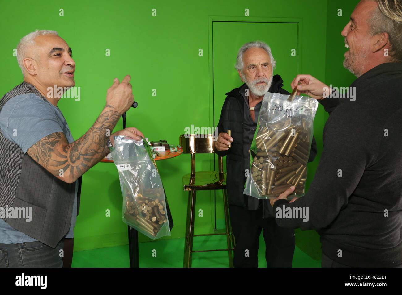 a80b84e5 Tommy Chong becomes a hologram at Swissx event at Hologram USA Theatre  Featuring: Alki David