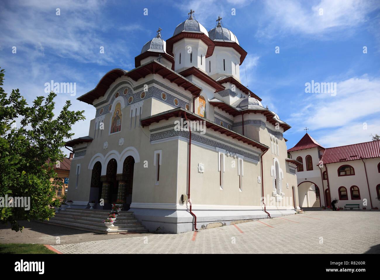 Church of Saint Nicholas the Younger from Curtea de Arges, Walachei, Romania - Stock Image