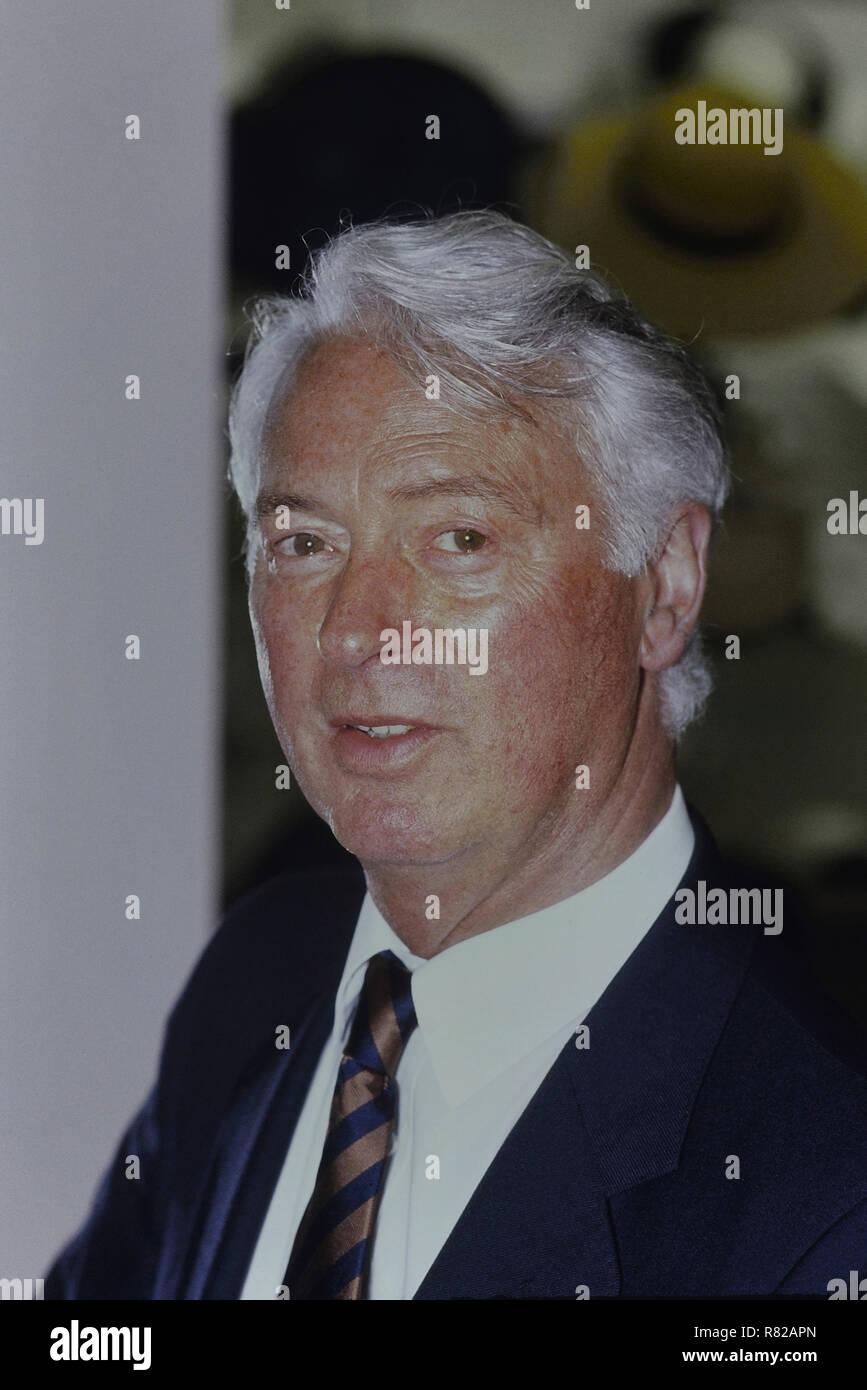 Milliner Philip Somerville. Circa 1980's - Stock Image