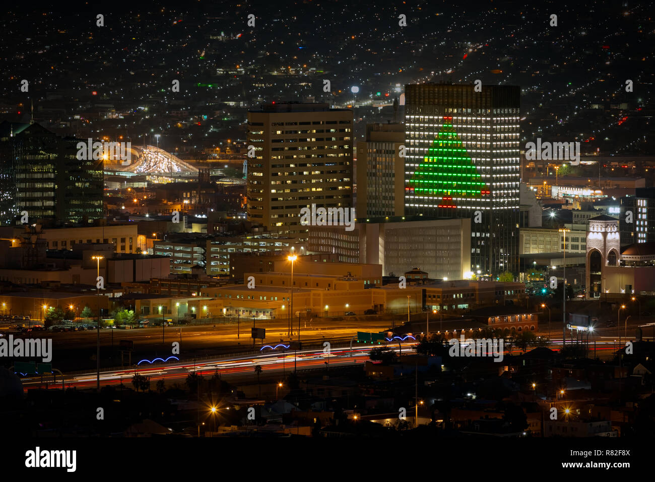 El Paso Christmas Lights.The Lights Of Downtown El Paso Texas Decked Out For