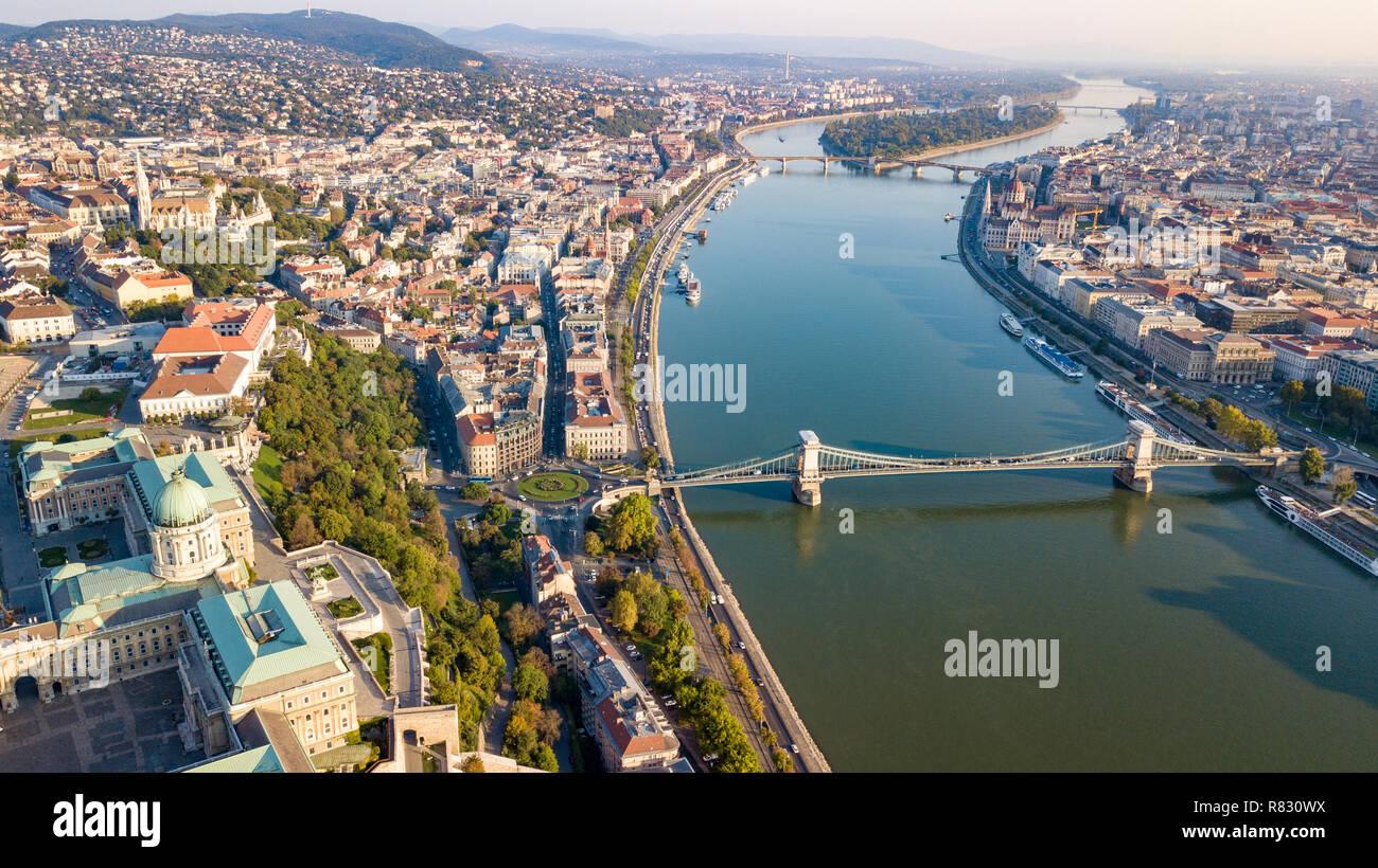 Buda Castle, Budavari Palota, Cityscape, Budapest, Hungary Stock Photo