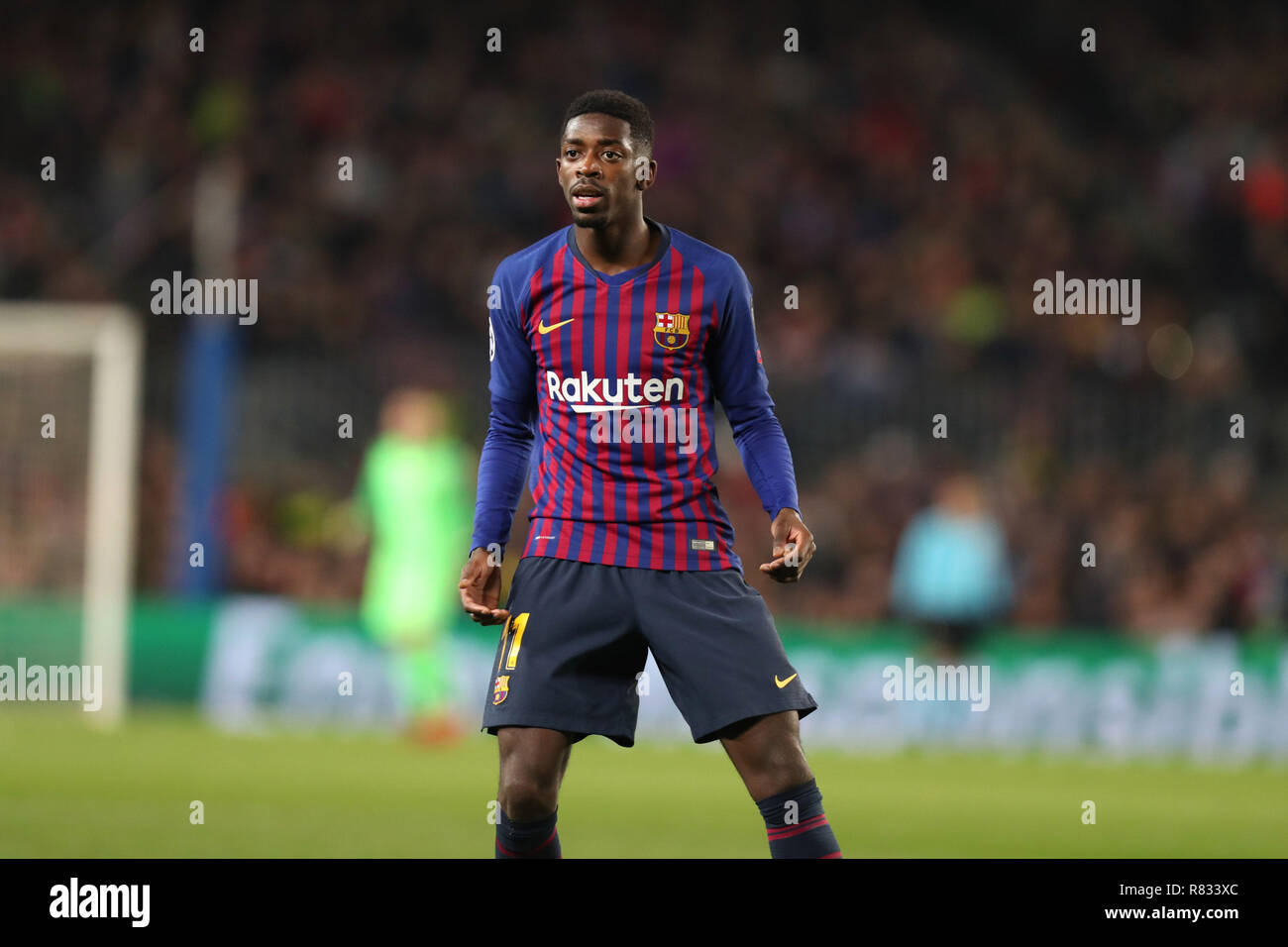 42c5285f7da December 10, 2018 - Barcelona, Spain - Ousmane Dembele of Barcelona during  the UEFA Champions League ...