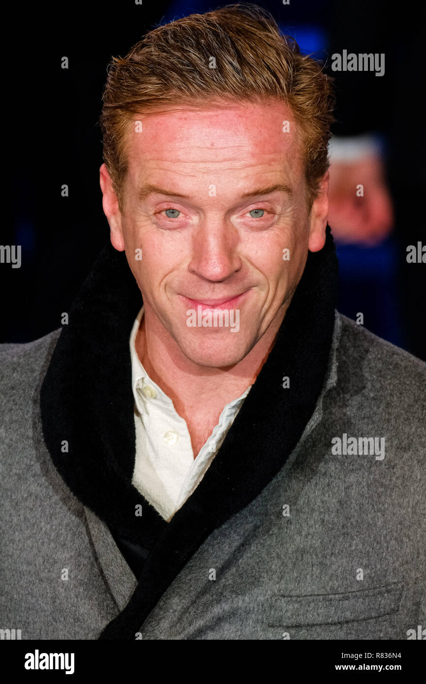 London, UK. 12th December, 2018. Damian Lewis at the European Premier of Mary Poppins Returns on Wednesday 12 December 2018 held at The Royal Albert Hall, London. Pictured: Damian Lewis. Credit: Julie Edwards/Alamy Live News - Stock Image