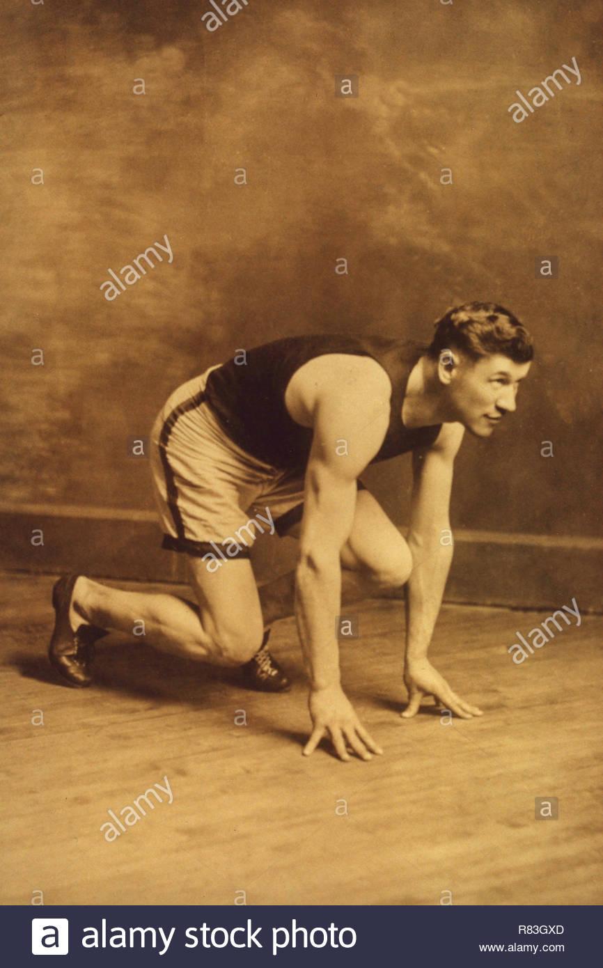 Jim Thorpe 1910. - Stock Image