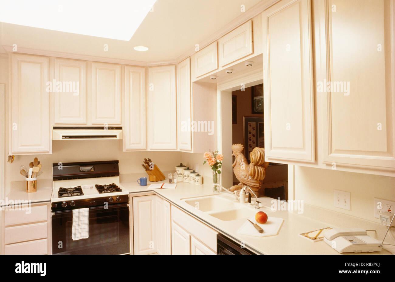 Kitchen Interior, USA - Stock Image
