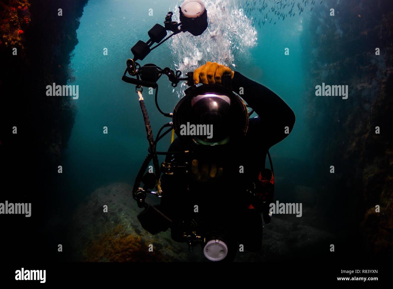 under water shot Stock Photo