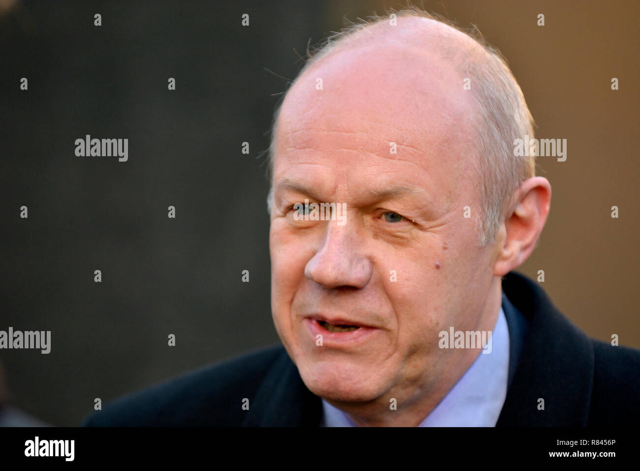 Damian Green MP (Conservative: Ashford) on College Green, Westminster, December 2018 - Stock Image