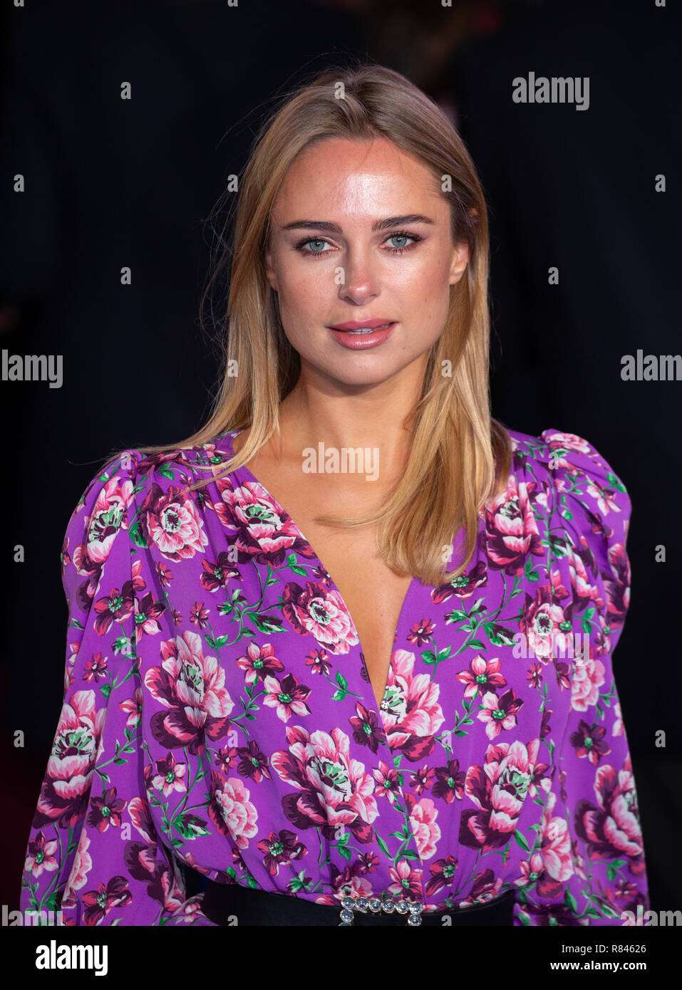 Kimberley Garner, Designer, actress and Television personality best known for 'Made in Chelsea' arrives at the Premiere of ' Mary Poppins Returns'. - Stock Image
