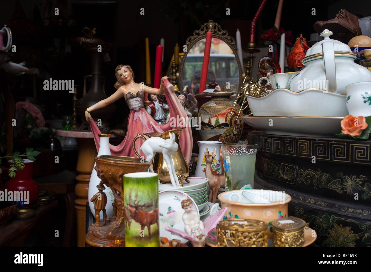 VIENNA, AUSTRIA - MAY, 22: Old vintage objects and furniture