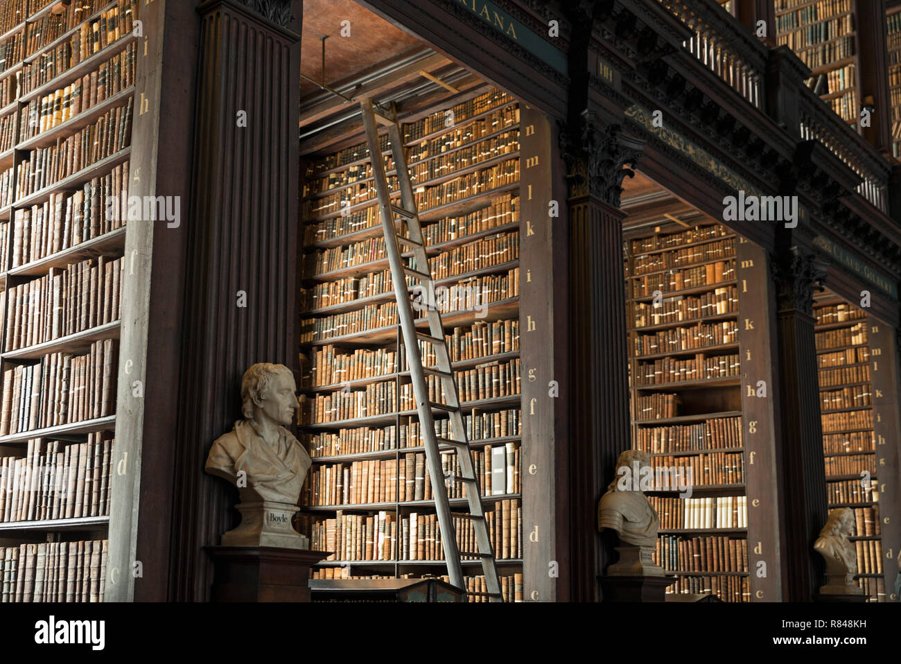 Ireland Dublin Trinity College Dublin Book Of Kells Old