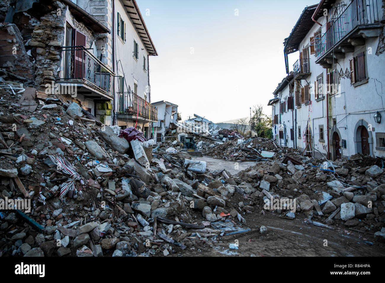 Amatrice Photo earthquake in amatrice stock photo: 228753794 - alamy