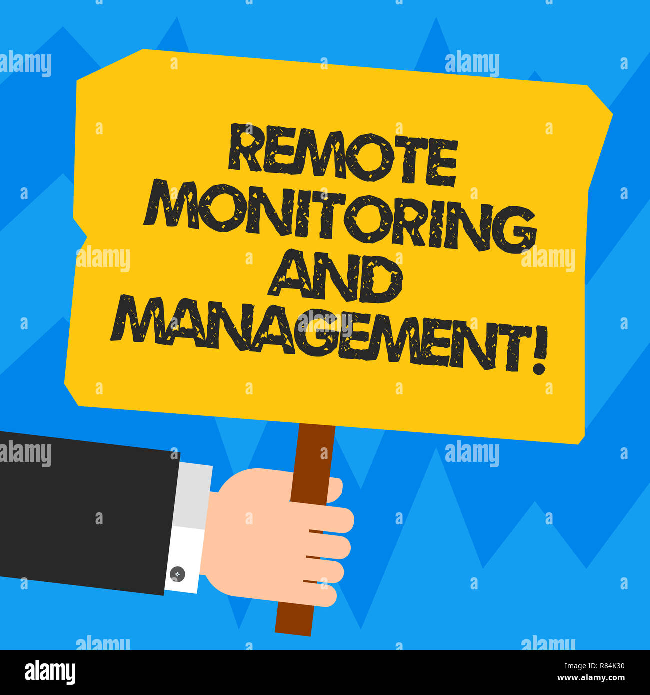 Word writing text Remote Monitoring And Management  Business concept