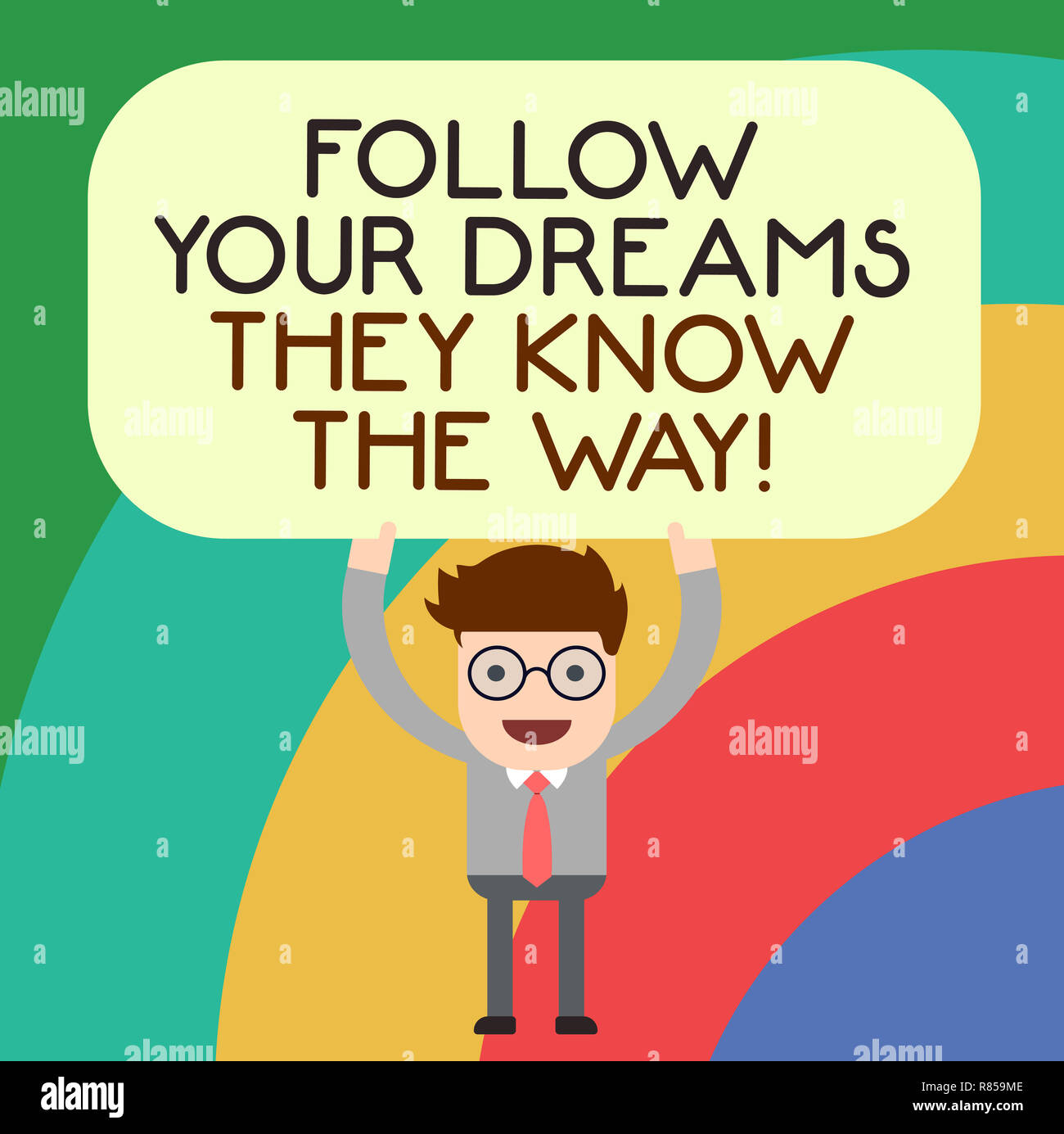 Handwriting Text Writing Follow Your Dreams They Know The Way