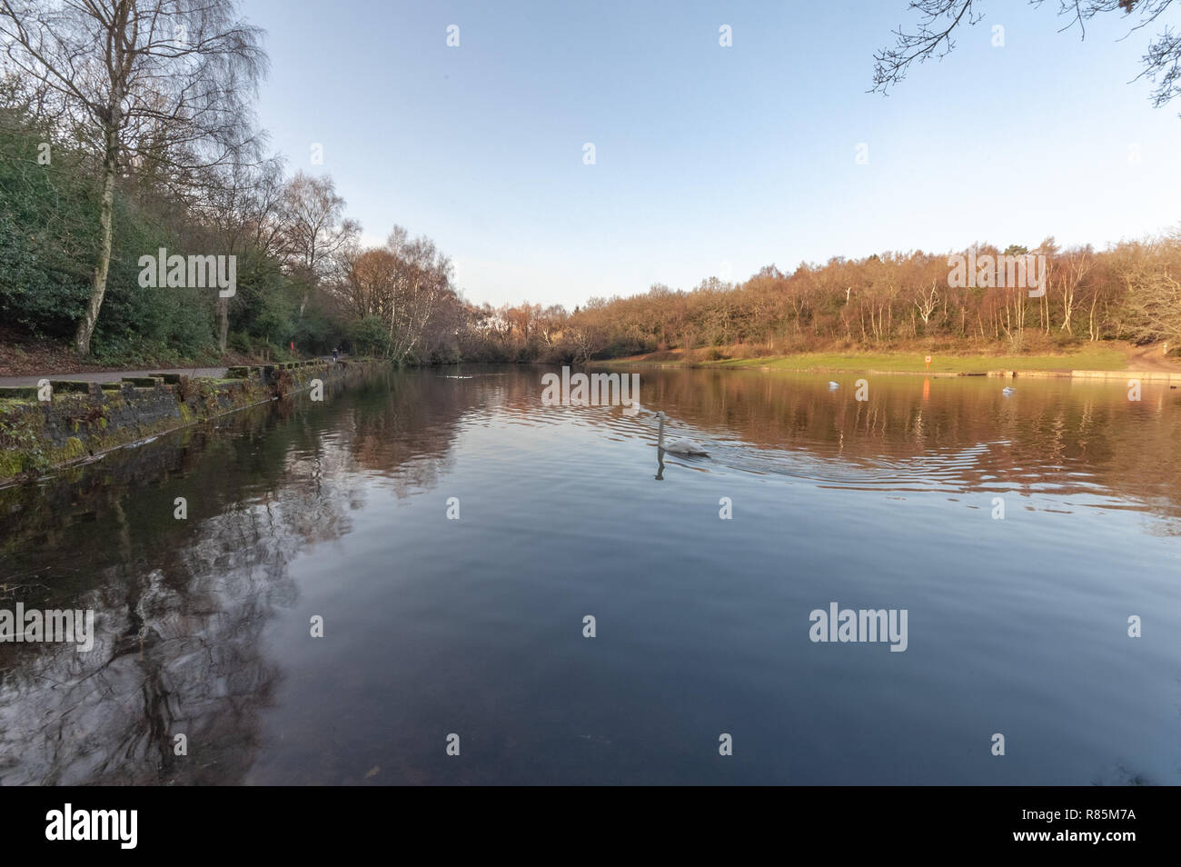 Keepers Pool from the east 1 - Stock Image