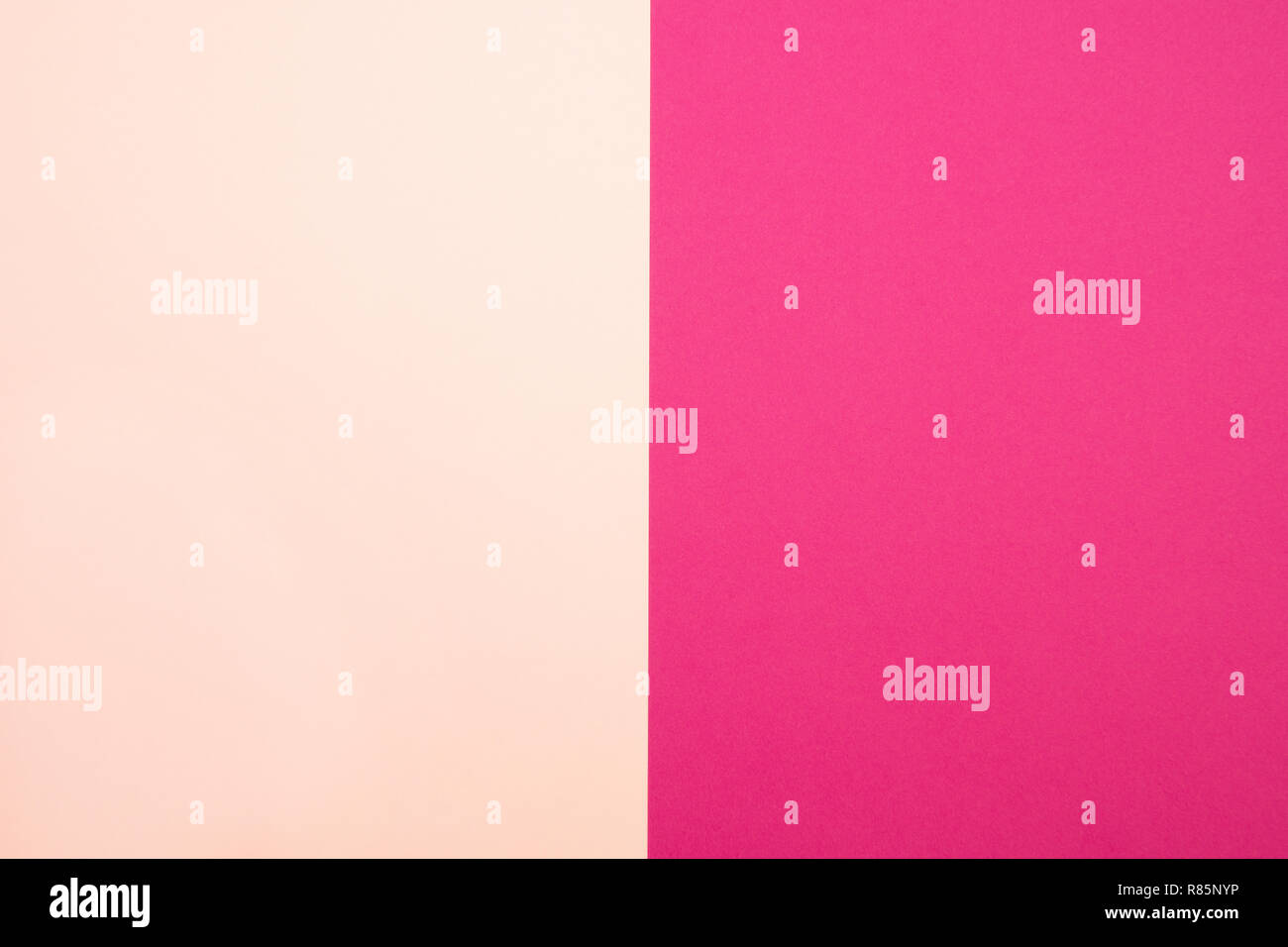Abstract background of paper pastel pink and magenta tones - Stock Image
